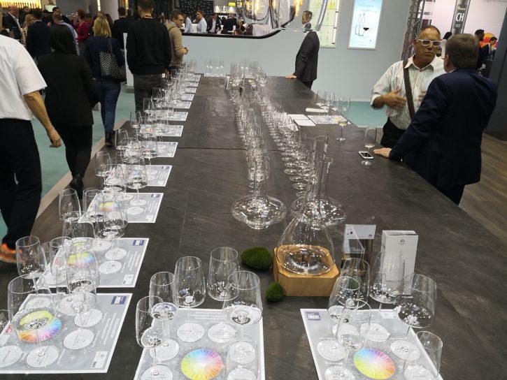 Gläser-Präsentation, Zwiesel Kristallglas, Alexander Kohnen, IWI