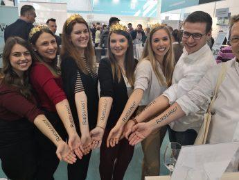 IWI bei der ProWein Riesling Tattoo