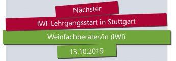 IWI Stuttgart, Weinfachberater Ausbildung