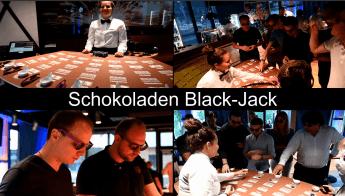 Schokolade Black-Jack Genuss Casino