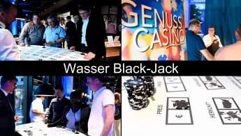 Wasser Black-Jack Genuss Casino